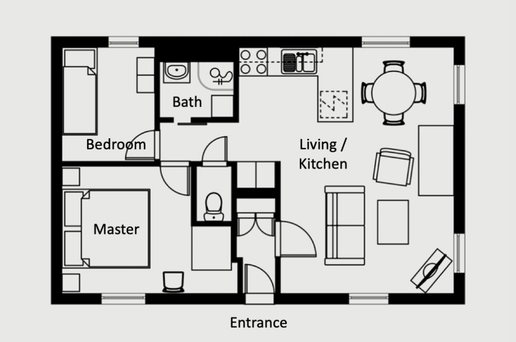 Porte de l'Orme - Luxury apartment - Floorplan