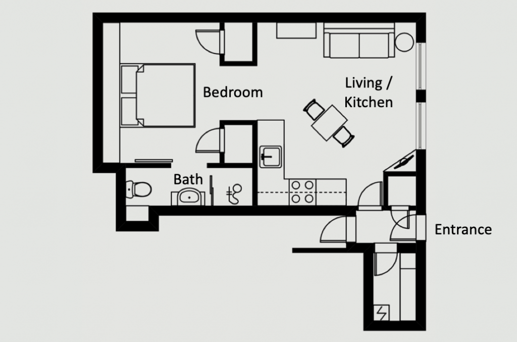 L'Atelier - Luxury apartment - Floorplan