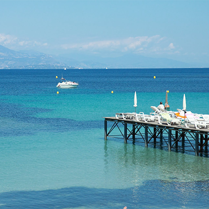 Private Beach Clubs in Antibes