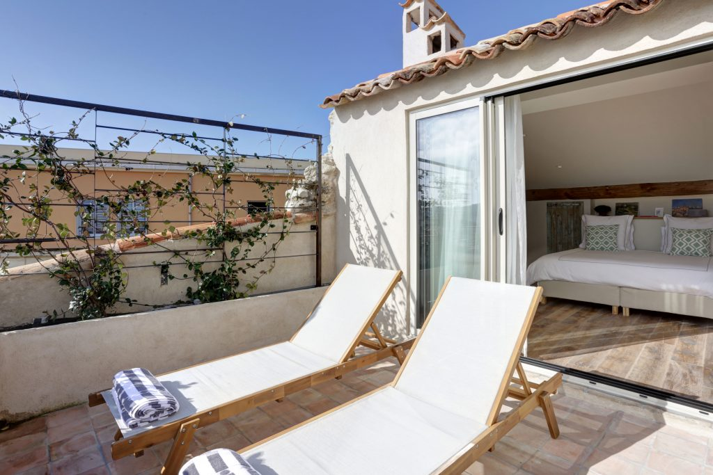 Antibes Rental - Clos des Vignes - Rooftop Terrace