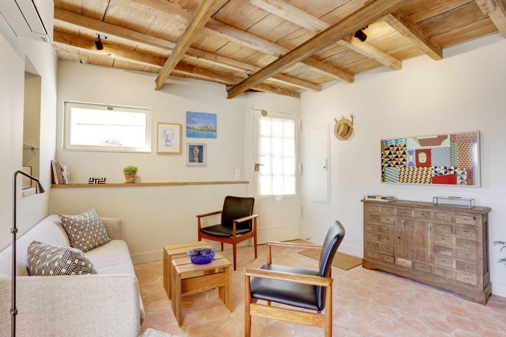 Antibes Rental - Clos des Vignes - Living room