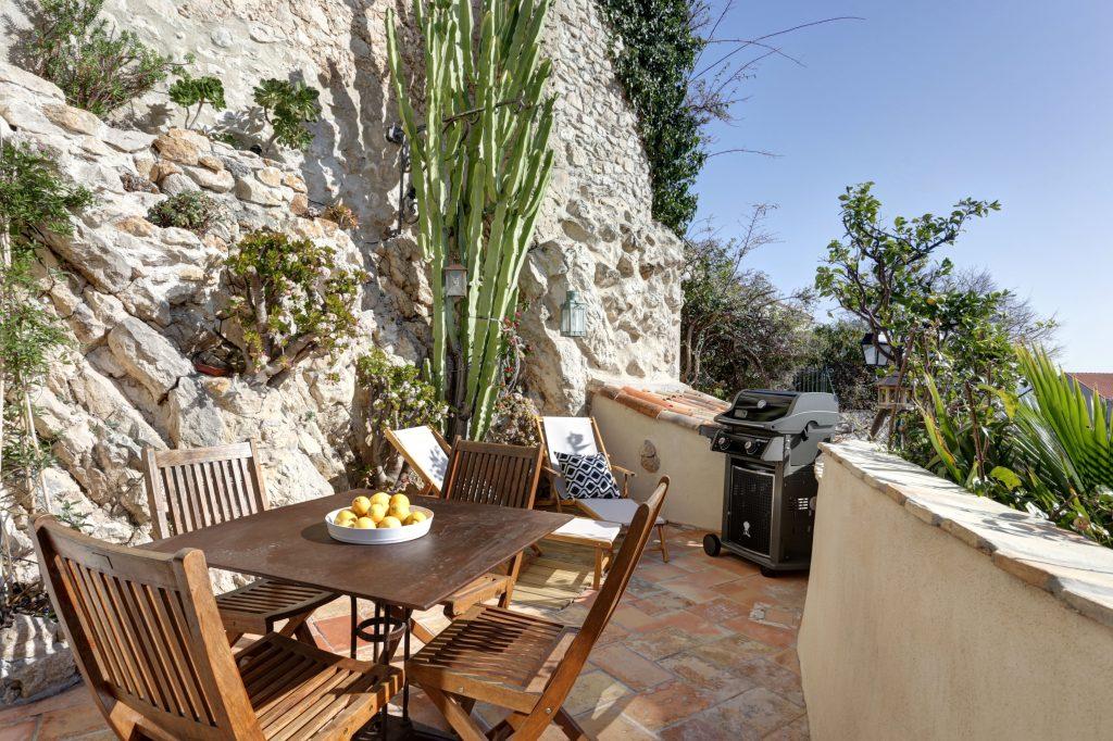 Antibes Rental - Clos des Vignes - Terrace